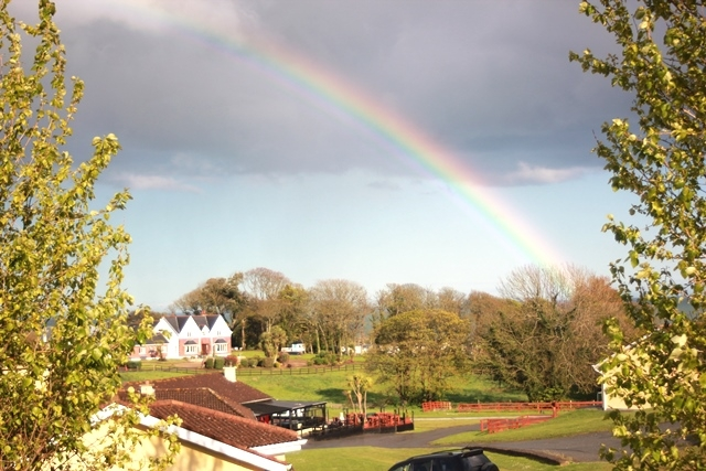 Rainbow at Ballinesker